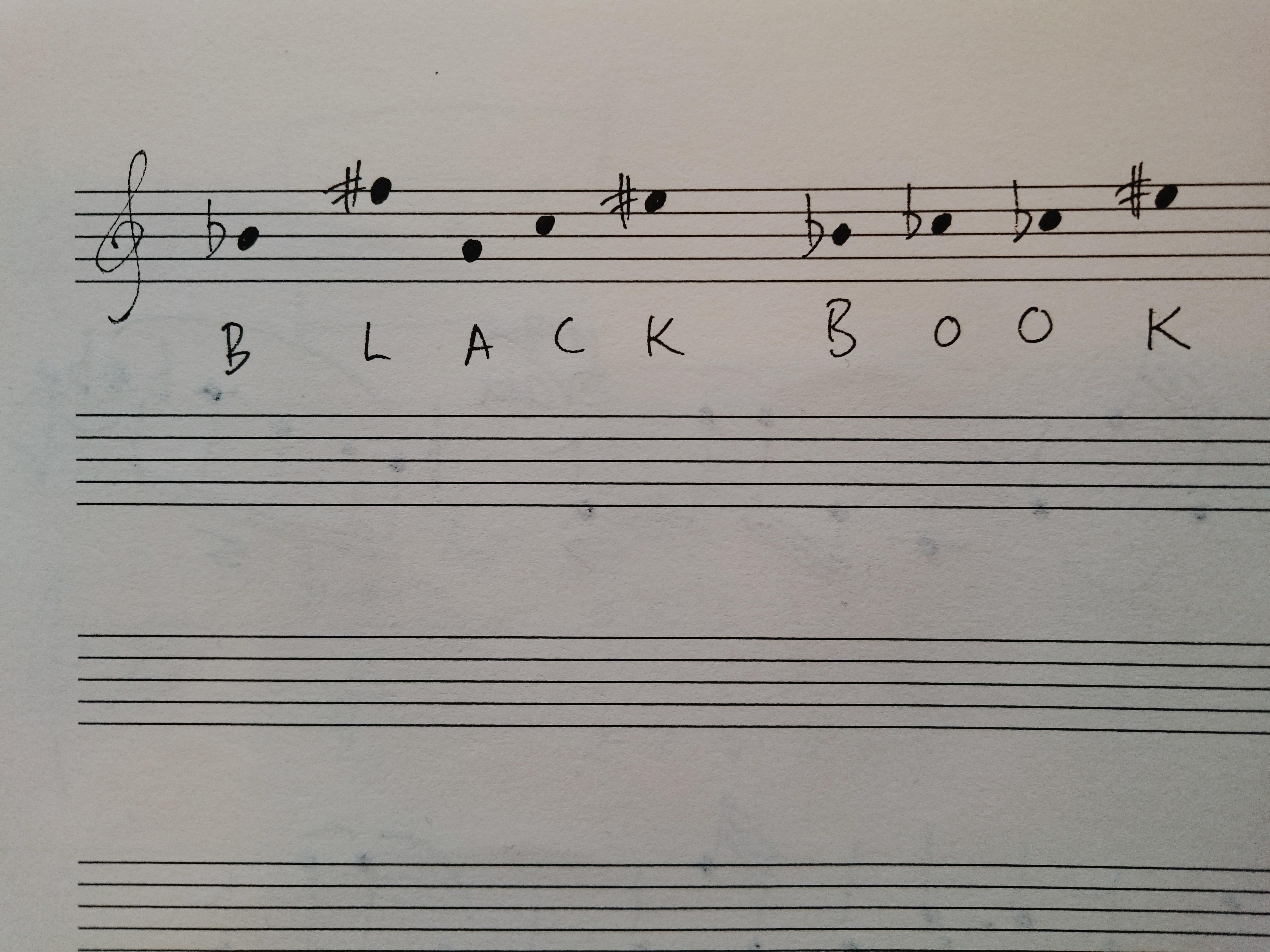 Cipher - Black Book