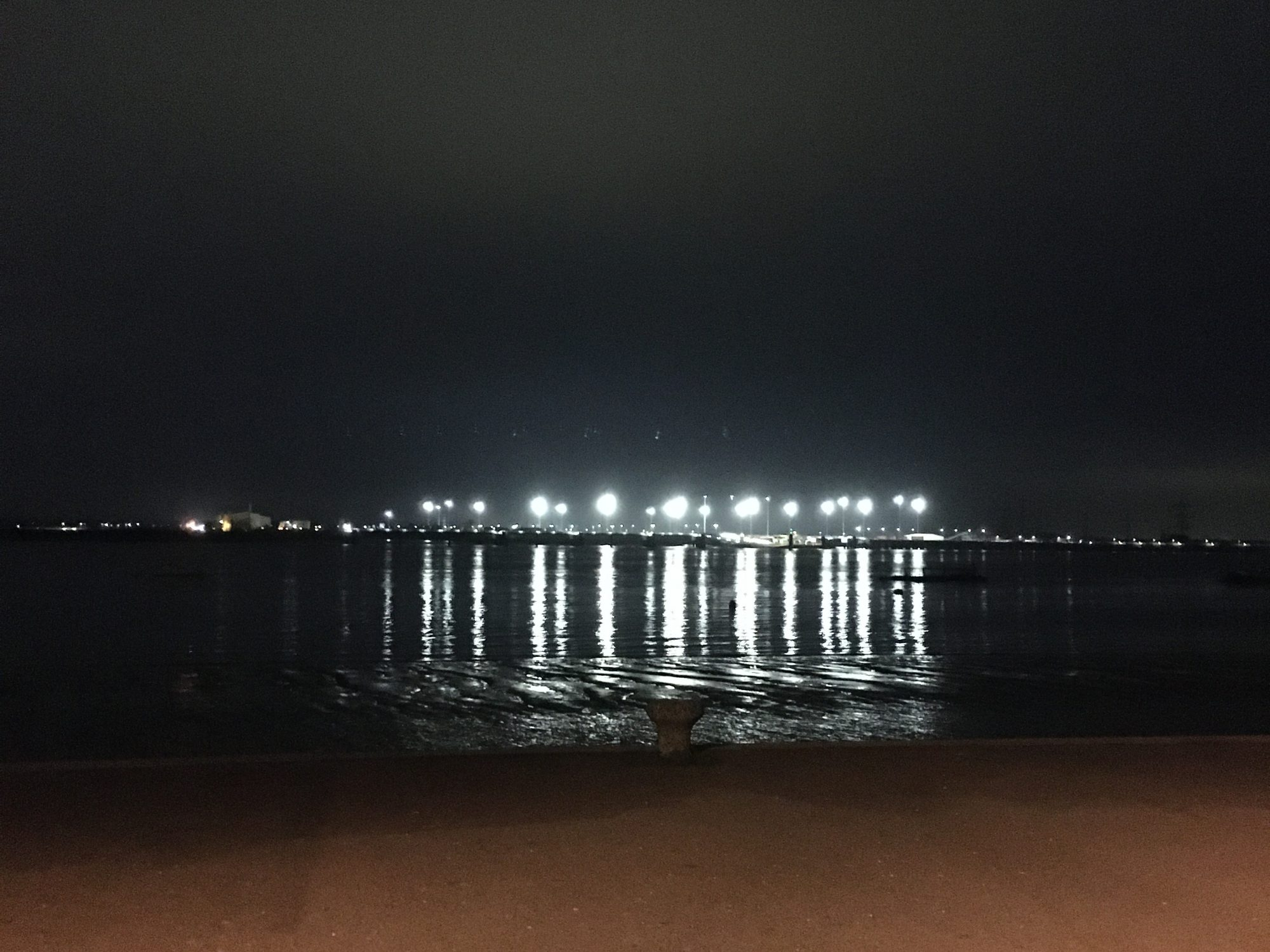 Lights in the distance